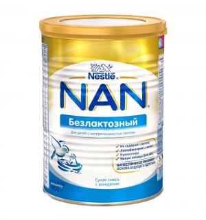 Молочная смесь  безлактозная с рождения, 400 г Nan
