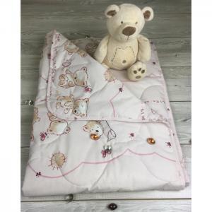 Одеяло  в кроватку Солнечные мишки 110х140 см Soni Kids