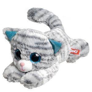 Мягкая игрушка  Кот глазастик Fancy. Цвет: серый