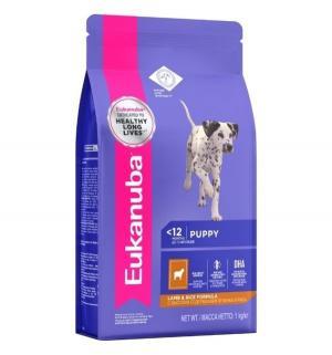 Euk Dog корм для щенков всех пород ягненок 1 кг. Eukanuba