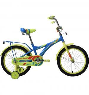 Велосипед  Crocky 18, цвет: синий Forward