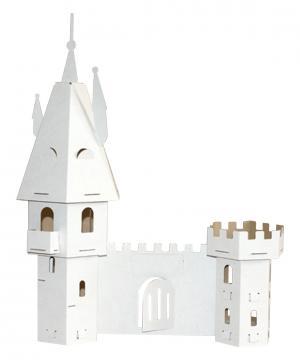 Набор игровой Картонный замок папа