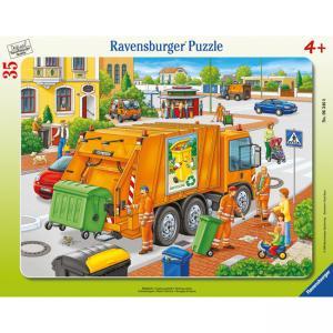Пазл  Вывоз мусора Ravensburger