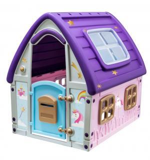 Домик  Сказочный, цвет:фиолетовый/розовый Star-plast
