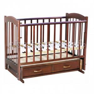 Детская кроватка  Радуга №4 маятник поперечный Ведрусс