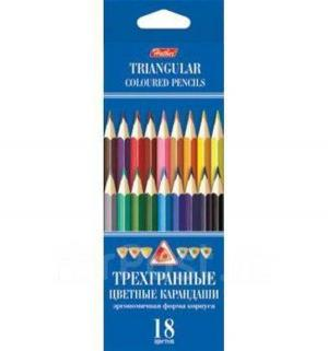 Набор цветных карандашей Hatber