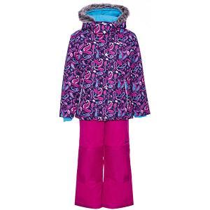 Комплект : куртка, полукомбинезон Zingaro by Gusti. Цвет: синий