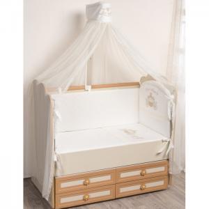 Комплект в кроватку  Маленькое Высочество (6 предметов) Селена (Сдобина)