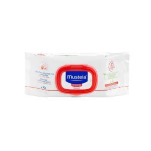 Салфетки  очищающие успокаивающие, 70 шт Mustela