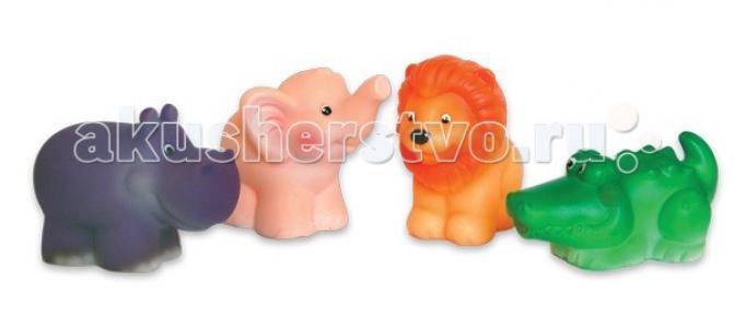 Набор игрушек для купания Африка Огонек