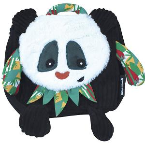 Рюкзак Deglingos Rototos  Panda черный. Цвет: черный