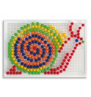 Мозаика классическая  Фантастические цвета 270 дет Quercetti