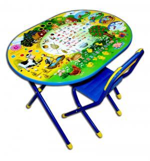Набор детской мебели  Веселая ферма, цвет: синий/желтый Дэми