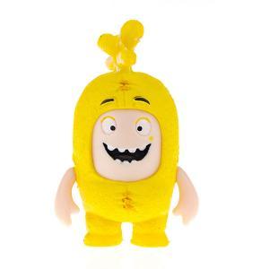 Брелок фигурка-чудик  Баблз, 4,5 см Oddbods. Цвет: желтый
