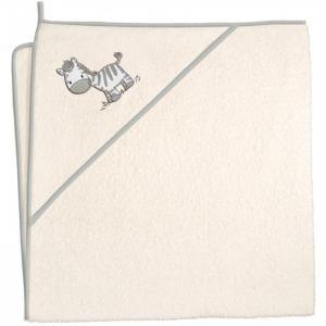 Полотенце-уголок Zebra 100х100 см Ceba Baby