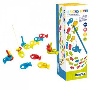 Деревянная игрушка  Развивающая игра Рыбалка Beleduc