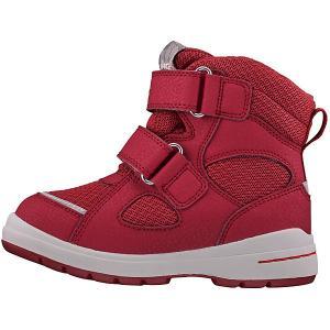 Утеплённые ботинки Viking. Цвет: красный