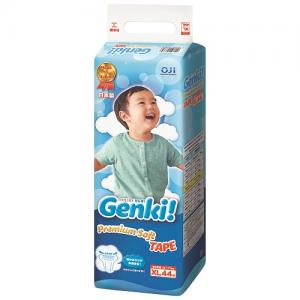 Подгузники Genki (12-17 кг) 44 шт. Nepia