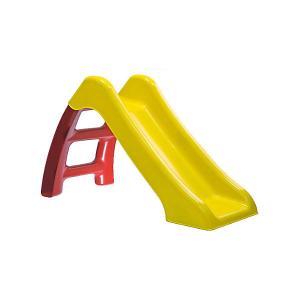 Горка , желто-красная Пластик. Цвет: желтый/красный