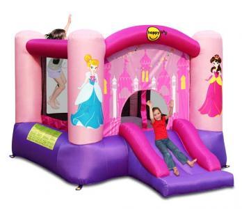 Надувной батут с горкой Принцесса 9201P Happy Hop