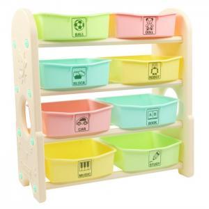 Стеллаж для игрушек с ящиками 4 полки 76х36х80.5 см Edu-Play