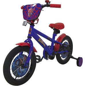 Двухколесный велосипед  Marvel Человек-Паук, 14 дюймов Navigator. Цвет: разноцветный