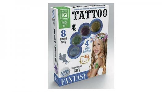 Игровой набор для временных татуировок Fantasy Каррас