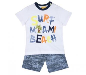 Комплект для мальчиков шорты и футболка Surf miami beach 09076416 Chicco
