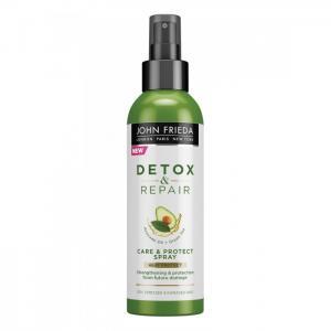 Несмываемый спрей для укрепления волос с термозащитой Detox & Repair 200 мл John Frieda