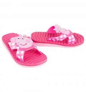 Шлепанцы  Peppa Pig, цвет: розовый Kakadu