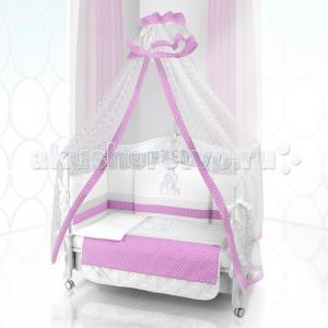 Комплект в кроватку  Unico Punto Di Giraffa 125х65 (6 предметов) Beatrice Bambini