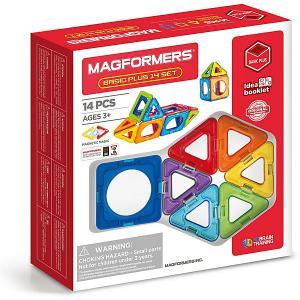 Магнитный конструктор  Basic Plus 14 set MAGFORMERS