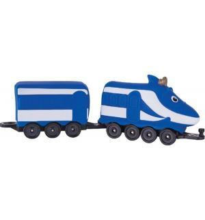 Игровой набор  Паровозик Ханзо с вагончиком 8.5 см Chuggington