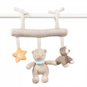 Подвесная игрушка  Mia & Basile Кролик и Мишка на завязках Nattou