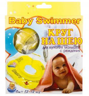 Круг на шею , цвет: желтый Baby Swimmer