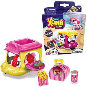 Игровой набор Zuru Хома Дома Хомбургер-авто, красный хомяк. Цвет: разноцветный