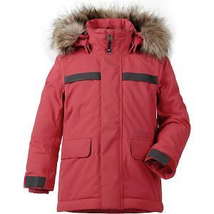 Утеплённая куртка Didriksons Hajen DIDRIKSONS1913. Цвет: красный