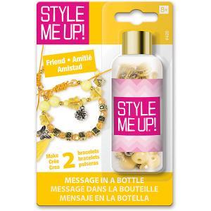 Набор для создания браслета  Послание в бутылке Дружба Style Me Up