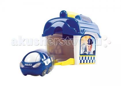 Игровой набор Полицейский участок с машинкой Playgo