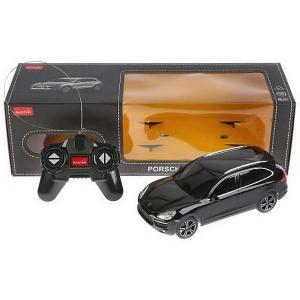 Радиоуправляемая машина  Porsche Cayenne Turbo, 1:24 Rastar. Цвет: черный