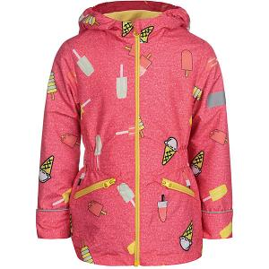 Демисезонная куртка JICCO BY OLDOS Леди. Цвет: коралловый