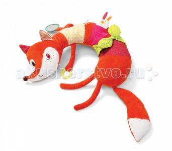 Подушка-игрушка Лиса Алиса: развивающая игрушка-подушка Lilliputiens