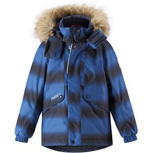 Куртка Furu  для мальчика Reima. Цвет: темно-синий