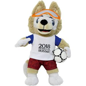Мягкая игрушка FIFA-2018  Волк Забивалка, 33 см 1Toy. Цвет: разноцветный