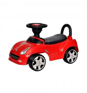 Каталка  Машинка 613, цвет: красный Everflo