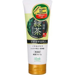 Пенка для умывания Roland с зеленым чаем, 120 г Japan Gals