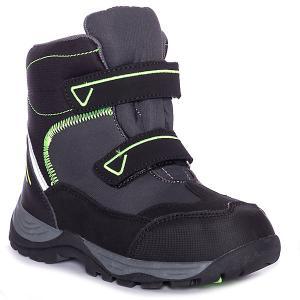 Утеплённые ботинки BJÖRKA. Цвет: серый