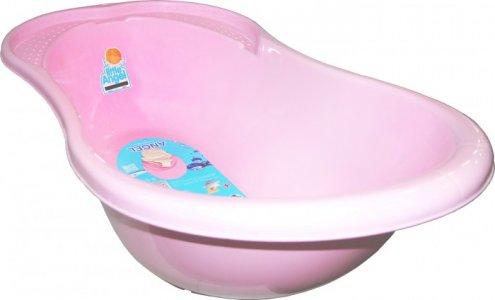 Ванночка детская Ангел (Start) со сливом и термометром 26 л Little Angel