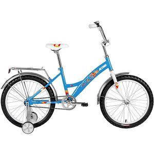 Двухколёсный велосипед ALTAIR Kids, 20 дюймов. Цвет: синий/белый