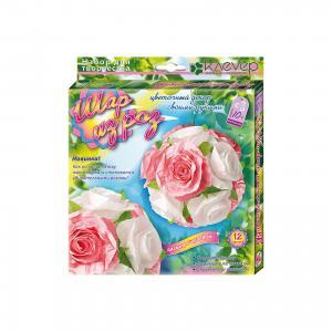 Набор для изготовления картины Шар из роз Клевер